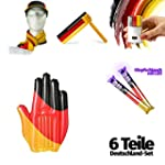 STYLETEC 6 teiliges Fan Set f�r Deuts...