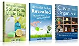 Minimalist Budget Revealed / Clean And Organized / Natural Cleaning Solutions Made Easy - (3 Book Value Pack): Tips To Save Money, Spend Less, Balance ... living, organization books, 1)