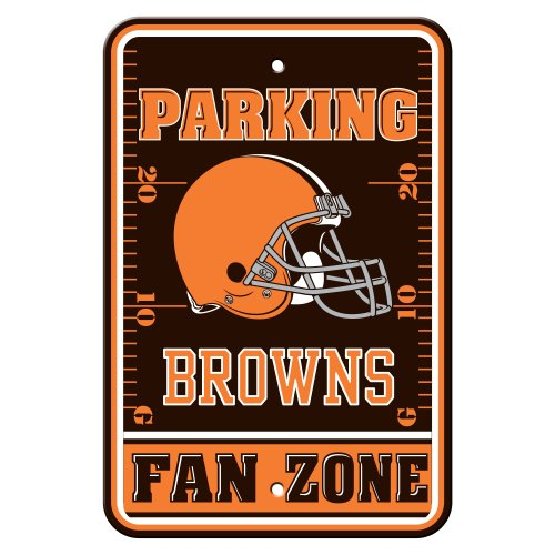 NFL Cleveland Browns Plastic Parking Signs