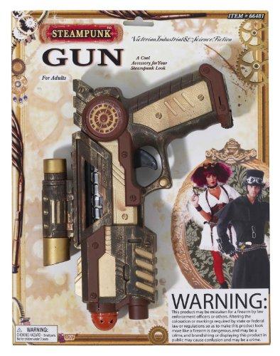 [Forum Novelties Inc Women's Steampunk Space Gun Multicoloured One Size] (Victorian Era Mens Costumes)