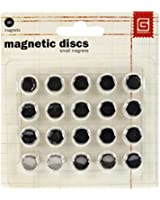 """Magnetic Snaps .375"""" 10/Pkg-1/32"""" Thick"""