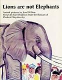 Lions are Not Elephants (0340230355) by Wilkon, Jozef