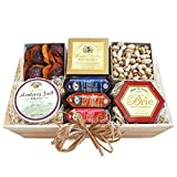Meat, Cheese & Nuts Gift Assortment | Pistachios, Summer Sausage, Cheese & Dried Pears thumbnail