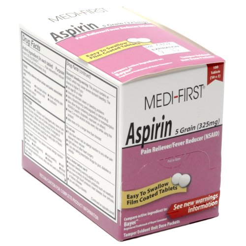 Medique Products 80548 Aspirin Tablets 250 TabletsB0006GE79I : image