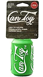 SodaPup Can Toy, Medium, Lemon Lime