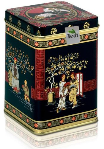 Turkish Apple Tea - In A Black Jap Caddy - 77X77X100Mm (75G)