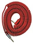 Vox VCC090RD C�ble spirale vintage, f...