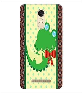 PrintDhaba Cartoon D-5808 Back Case Cover for XIAOMI REDMI NOTE 3 PRO (Multi-Coloured)