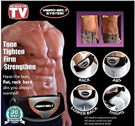 As Seen on TV Vibro Belt Action Pro with Bag Tones Abs
