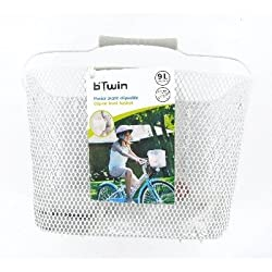 Btwin Cycle Basket, Junior (White)