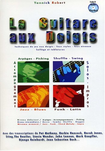 Guitare aux Doigts Yannick Robert Tab + 2cd