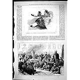 La Impresión Antigua de Melodeteze 1877 Moscú Persigue a Alcalde Dublín del Escudo de Elcho del Irlandés Ocho