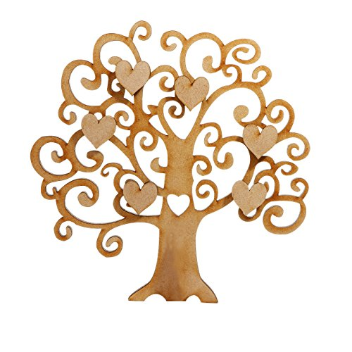 mdf-tree-shape-for-family-tree-crafts-hearts-included-available-in-6-sizes-15cm