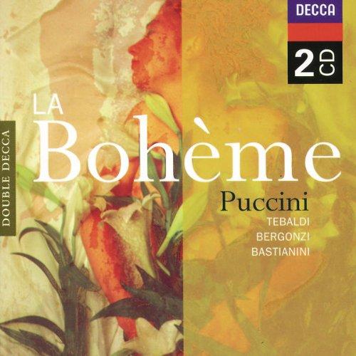 La Boheme (Tebaldi-Bergonzi-Serafin) - Puccini - CD