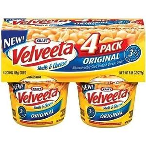 velveeta mac and cheese cups