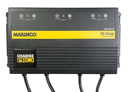 Marinco On-Board 30 Amp Battery Charger Bank (Boat Battery Charger 3 Bank compare prices)