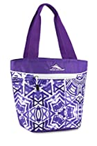 High Sierra Lunch Tote, Shibori/Deep Purple/White