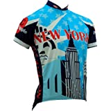Canari Men's New York Souvenir Short Sleeve Cycling Jersey