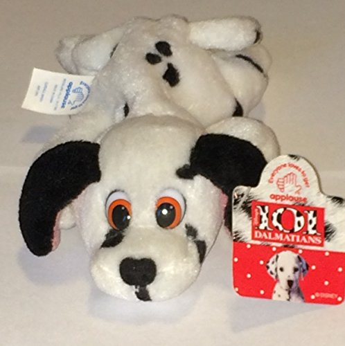 "7"" Plush Disney 101 Dalmatians Dog Floppy Doll Toy"