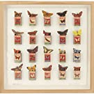 Framed Butterfly Collage by Andrew Malone