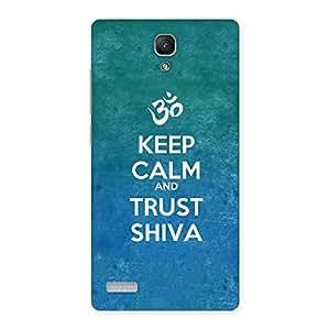Special Trust Shiva Back Case Cover for Redmi Note 4