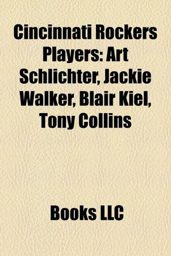 Cincinnati Rockers Players: Art Schlichter, Jackie Walker, Blair Kiel,
