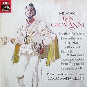 Mozart: Don Giovanni (Gesamtaufnahme, italienisch: London 1959) [Vinyl Schallplatte] [3 LP Box-Set]