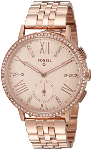 Fossil-Q-Gazer-Gen-2-Hybrid-Rose-Gold-Tone-Stainless-Steel-Smartwatch
