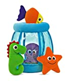 51EgPA7HNpL. SL160  Melissa &amp; Doug Deluxe Fishbowl Fill &amp; Spill Soft Baby Toy