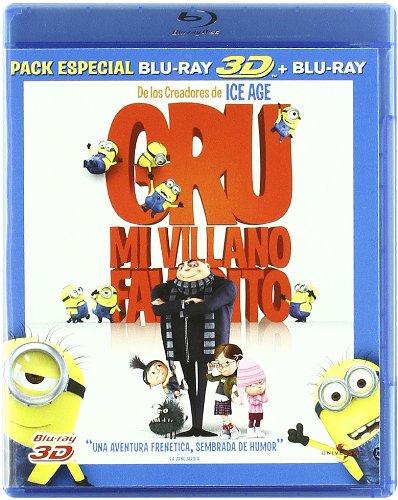 Gru, Mi villano favorito + 3D [Blu-ray]