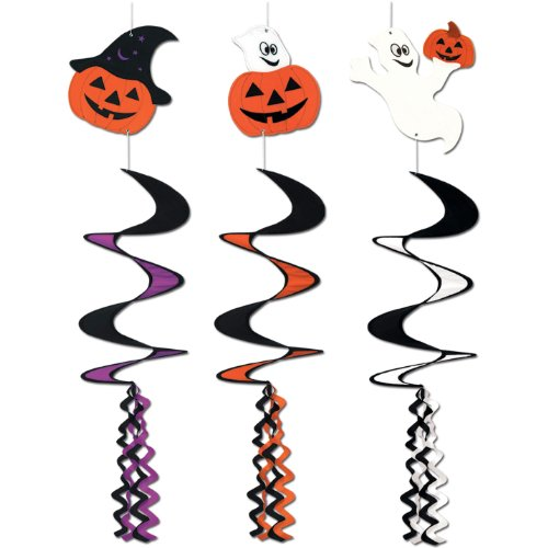 Halloween Wind-Spinners (asstd designs) Party Accessory  (1 count) (1/Pkg)