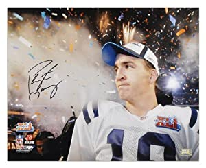 Indianapolis Colts Peyton Manning Autographed 16