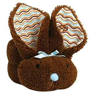 Stephan Baby Boo Bunnie Ice Pack and Boo Cube, Chocolate