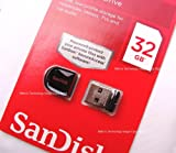 SanDisk Cruzer Fit CZ33 32GB USB Flash Drive (SDCZ33-032G-B35)