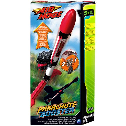 Air Hogs Parachute Booster, Red - 1