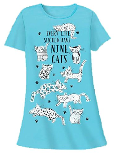 Cute and comfy t shirt nightgowns for Long sleep shirts cotton