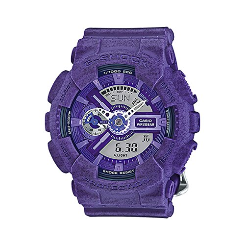 G-Shock GMAS-110HT-6A S-Series Heathered Color Luxury Watch - Purple
