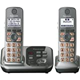 Panasonic KX-TG7732S DECT 6.0 Link-to-Cell via Bluetooth Cordless Phone with Answering System, Silver, 2 Handsets... by Panasonic  (Mar 11, 2012)