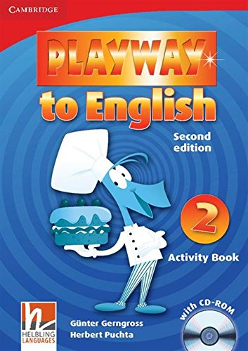 Playway to English 2nd  2 Activity Book with CD-ROM