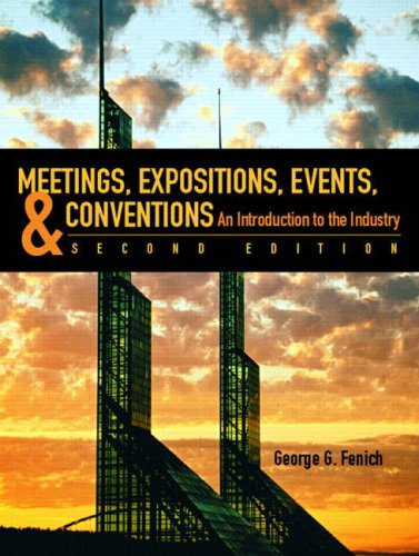 Meetings, Expositions, Events & Conventions (2nd...