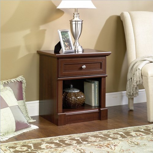 Sale!! Sauder Palladia Night Stand, Select Cherry Finish