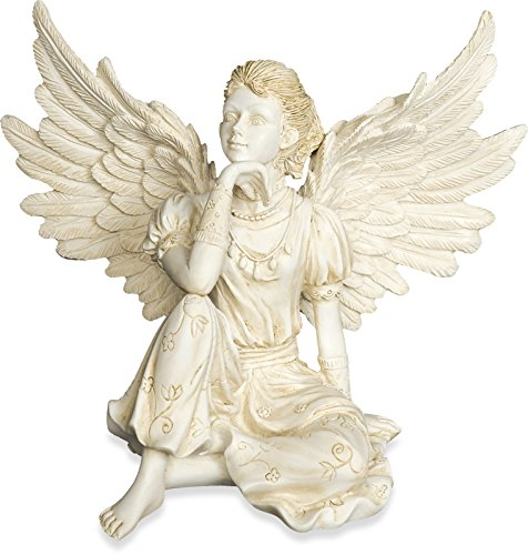 AngelStar Thoughtfulness Angel Figurine, 4-Inch