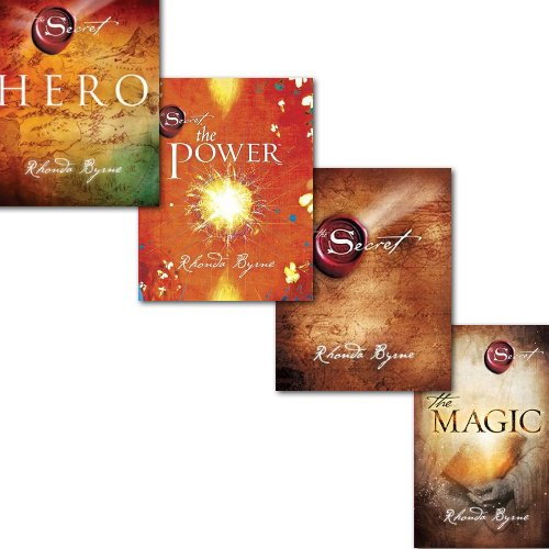Rhonda Byrne The Secret Series 4 Books Collection Set Pack, Hero The Secret, The Power and[PaperBack] The MagicFrom Simon & Schuster Ltd