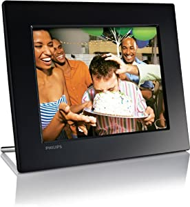 """Philips High Resolution SPF2017/12 7"""" Inch Digital Photo Frame with built in 512mb memory"""