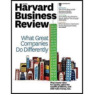 Harvard Business Review, November 2011 Periodical