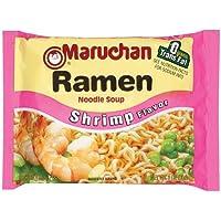 24-Count Maruchan Shrimp Flavor Ramen Instant Noodle Soup 3 oz
