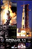 Apollo 11 Launch Art Poster PRINT Unknown 24x36