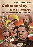 img - for Gobernantes de Mexico (Spanish Edition) book / textbook / text book