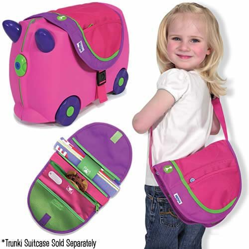 Trunki Saddlebag - Pink/Purple front-365289