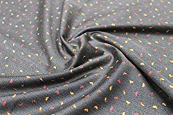 Mirza Fabrics Men's Shirt Fabric(MF002_Grey)